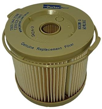 Racor filtro de combustible elemento 2010tm-or 10 Micron: Amazon.es: Coche y moto