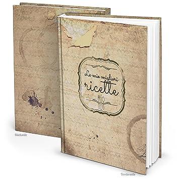 """XXL livre de recettes italien """"Le MIE migliori Ricette Vintage DIN A4 164"""