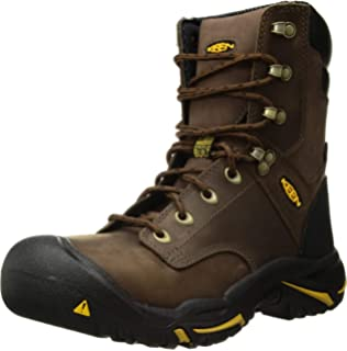 b931fb88fce Amazon.com | KEEN Utility Men's Wenatchee 8-Inch Steel Toe Work Boot ...