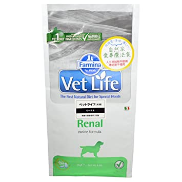 Vet Life renal Dog, 1er Pack (1 x 2 kg): Amazon.es: Productos para mascotas