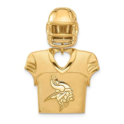 sneakers for cheap 57587 ec545 Amazon.com: Kira Riley Gold Plated Minnesota Vikings Jersey ...