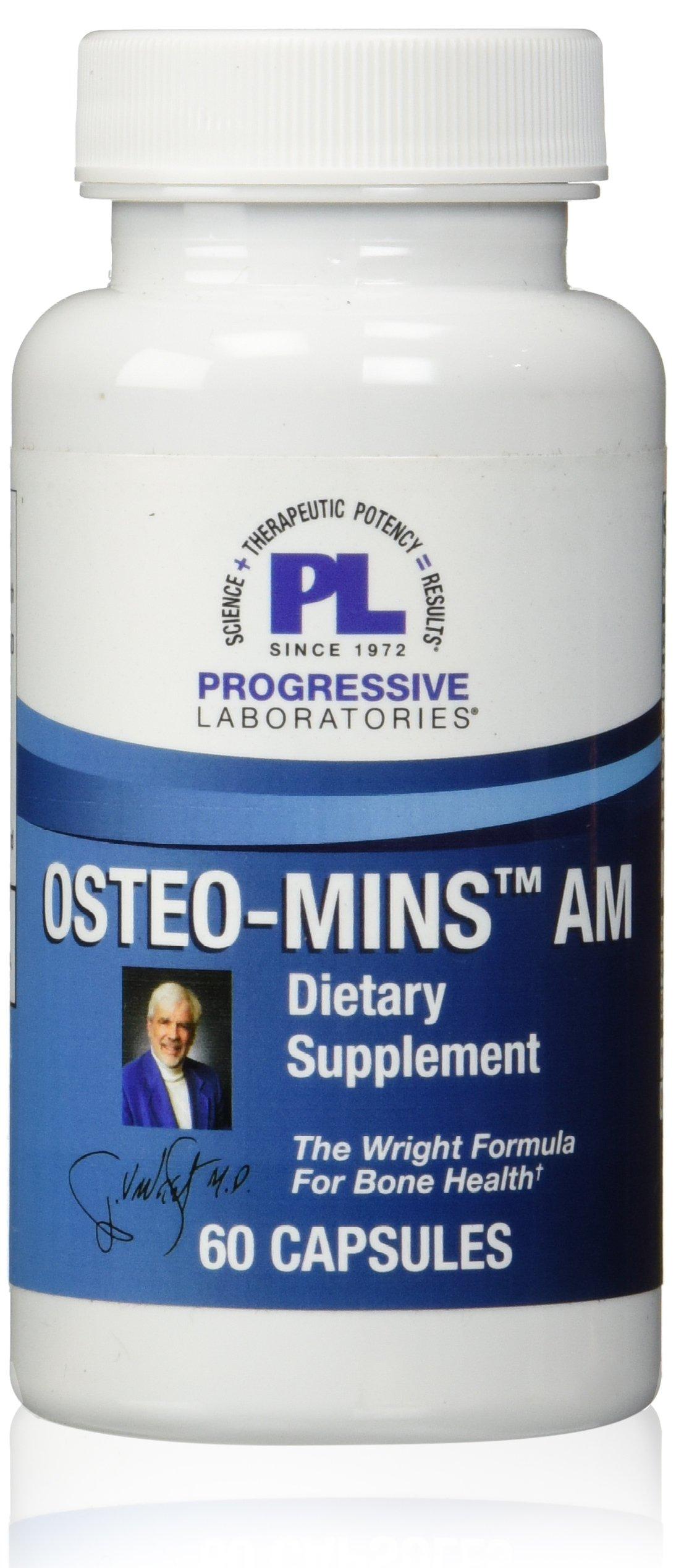 Progressive Labs Osteo-Mins AM Supplement, 60 Count