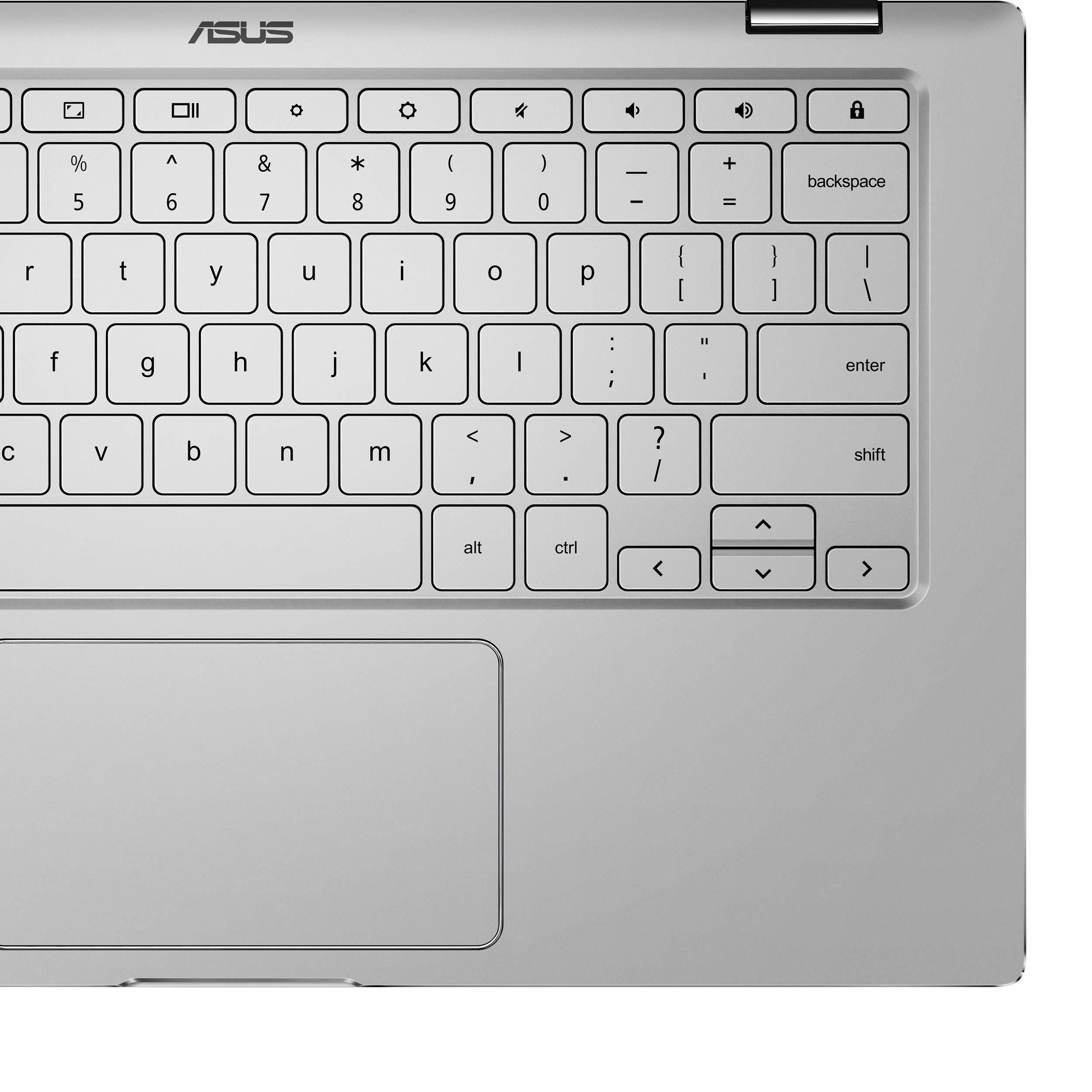 ASUS Chromebook Flip C434TA-DSM4T 2-in-1 Laptop 14'' Touchscreen Full HD 4-Way NanoEdge, Intel Core M3-8100Y Processor, 4GB RAM, 64GB eMMC Storage, Chrome OS by ASUS (Image #5)