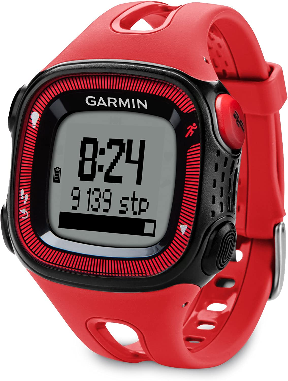 Garmin Forerunner 15 Bundle Large, Red/Black
