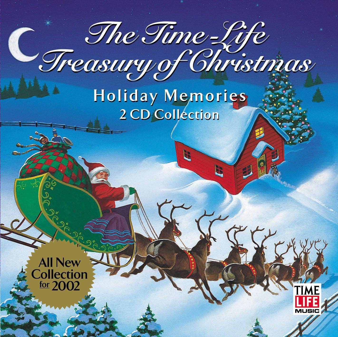 The Time-Life Treasury of Christmas: Holiday Memories by Time/Life Music