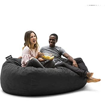 Amazon Com Big Joe Xl Fuf Foam Filled Bean Bag Chair