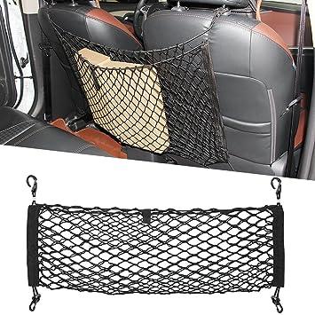 cargo     dog barrier back seat cargo storage tidy   webbing trunk   mesh amazon    cargo     dog barrier back seat cargo storage tidy      rh   amazon