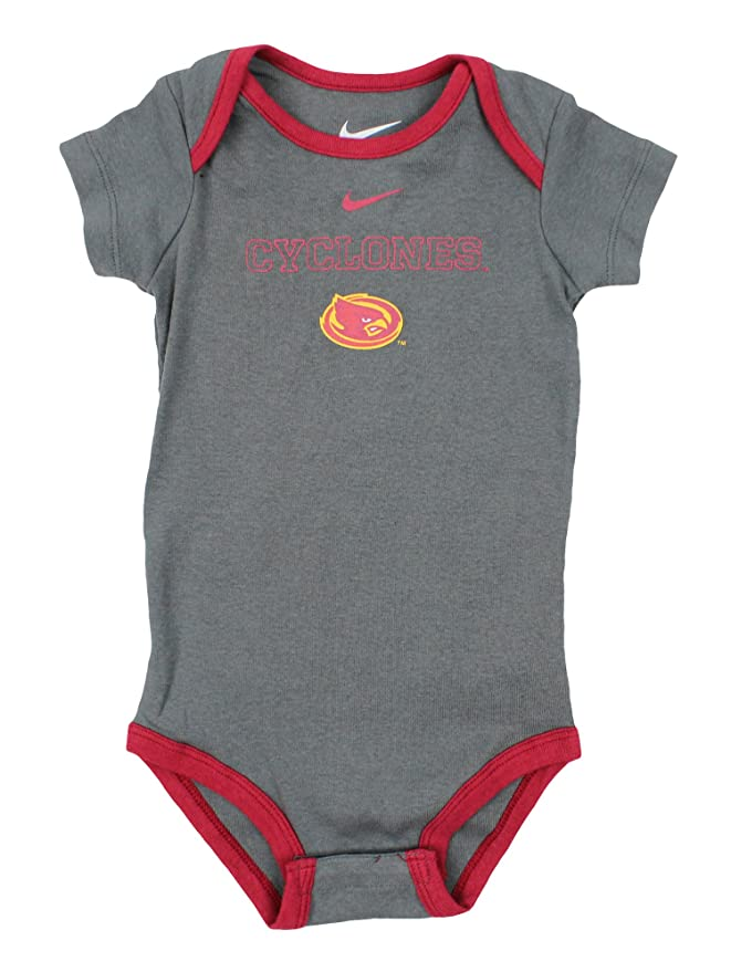 brand new 418d0 bf0b1 Amazon.com  Nike Infants (3-24M) NCAA Iowa State Cyclones 3-Piece Onesie  and Pant Set  Sports   Outdoors