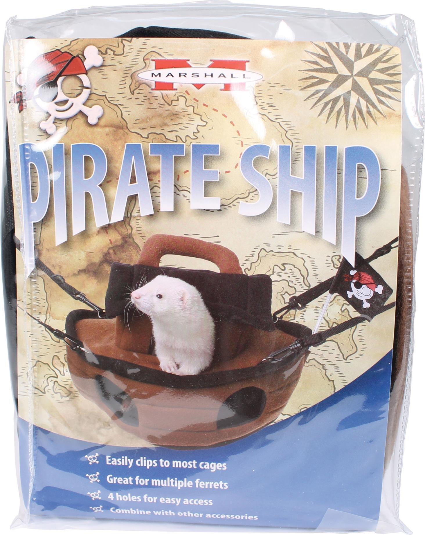 DPD Pirate Ship Ferret Hideaway