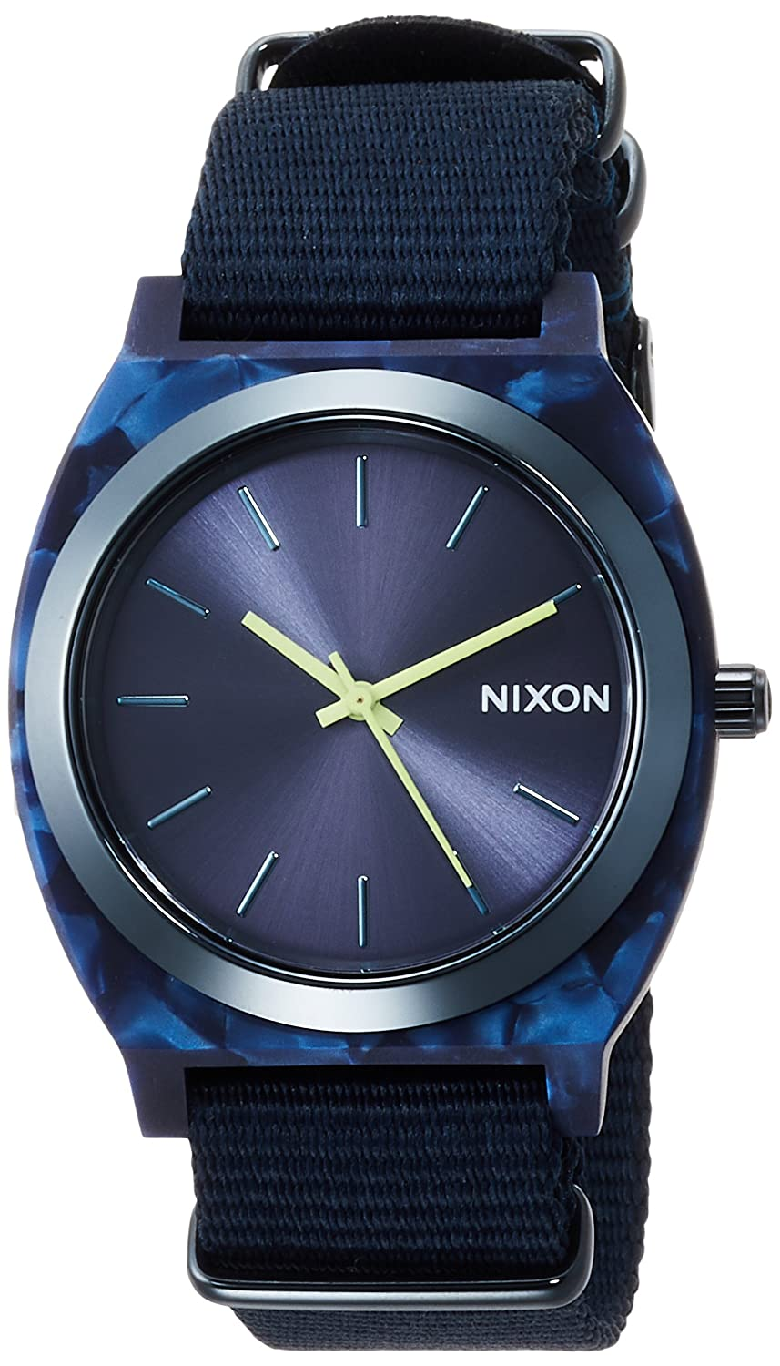 [ニクソン]NIXON TIME TELLER ACETATE: ALL BLUE NA3272490-00 【正規輸入品】 B01MTEF1YN
