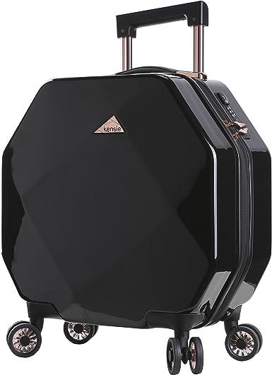 2 PC kensie Gemstone Octagon luggage set MINT