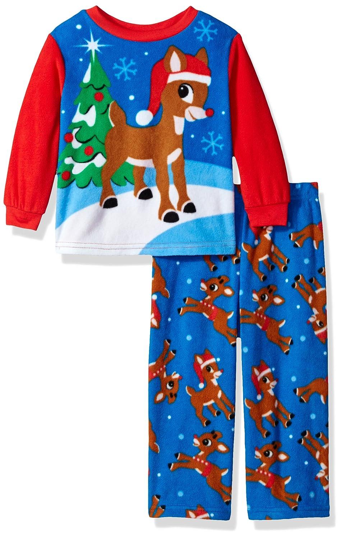Rudolph Boys The Red-nosed Reindeer 2-piece Fleece Pajama Set 21RD005ELLZA-P6