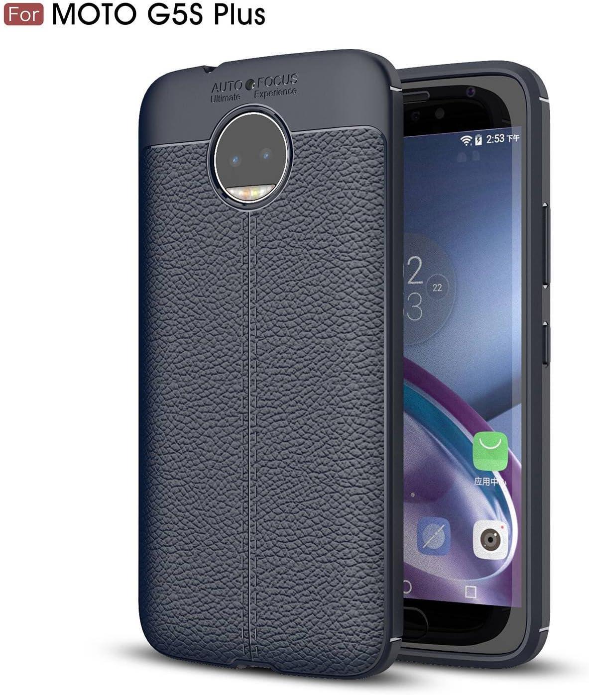 pinlu® Funda para Motorola Moto G5S Plus TPU Suave y Flexible Gel ...