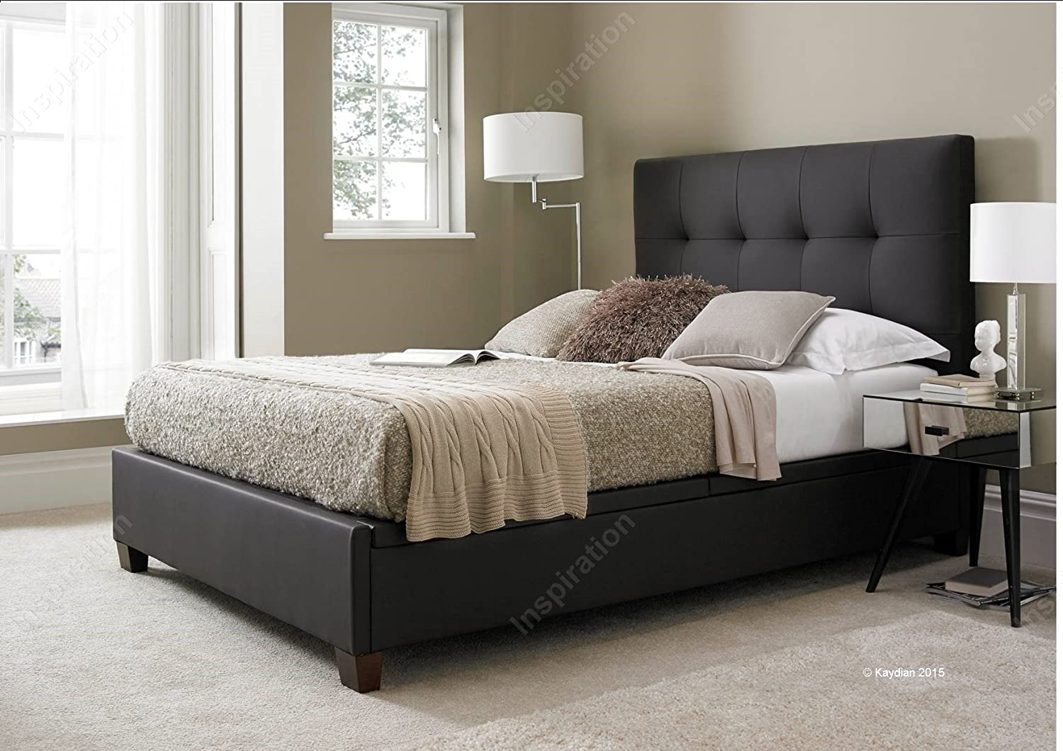 Inspiration Beds Kaydian Walkworth 5 ft (150 cm x 200 cm) King Size ...