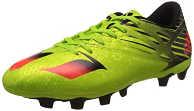 huge selection of ee97e 3a548 adidas Messi 15.4 Fxg, Chaussures de Football Compétition homme,  Multicolore - Verde   Rojo