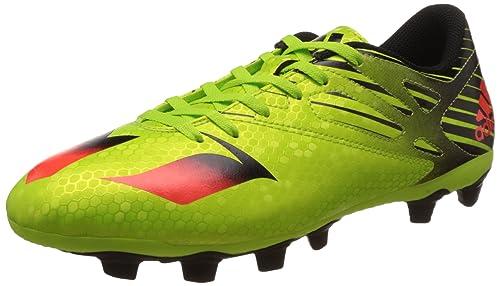 timeless design 06522 4489d Adidas Messi 15.4 Fxg Scarpe da calcio allenamento, Uomo, Multicolore  (Verde   Rojo