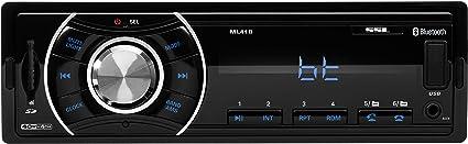 SOUNDSTORM Single-DIN Mechless Bluetooth Digital Media FM Car StereoML41B