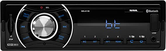 Sound Storm ML41B Single Din