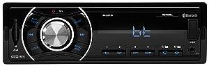 Sound Storm ML41B Single Din, Bluetooth, MP3/USB/SD FM Car Stereo, (No CD/DVD), Wireless Remote Control