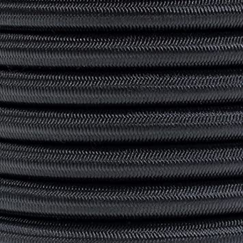 Made In USA 50 /& 100 Foot Lengths Various Colors PARACORD PLANET 3//8 Inch Elastic Bungee Nylon Shock Cord Stretch String Crafting 10 25