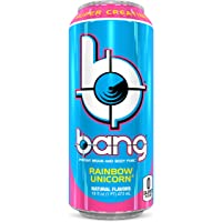 36-Count (3 x 12-Pack) of 16oz VPX Bang Energy Drink (Rainbow Unicorn)