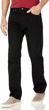 Men/'s NWT Levi/'s 505 Jeans 32x34 Denim Blue Sit at waist Straight Regular fit