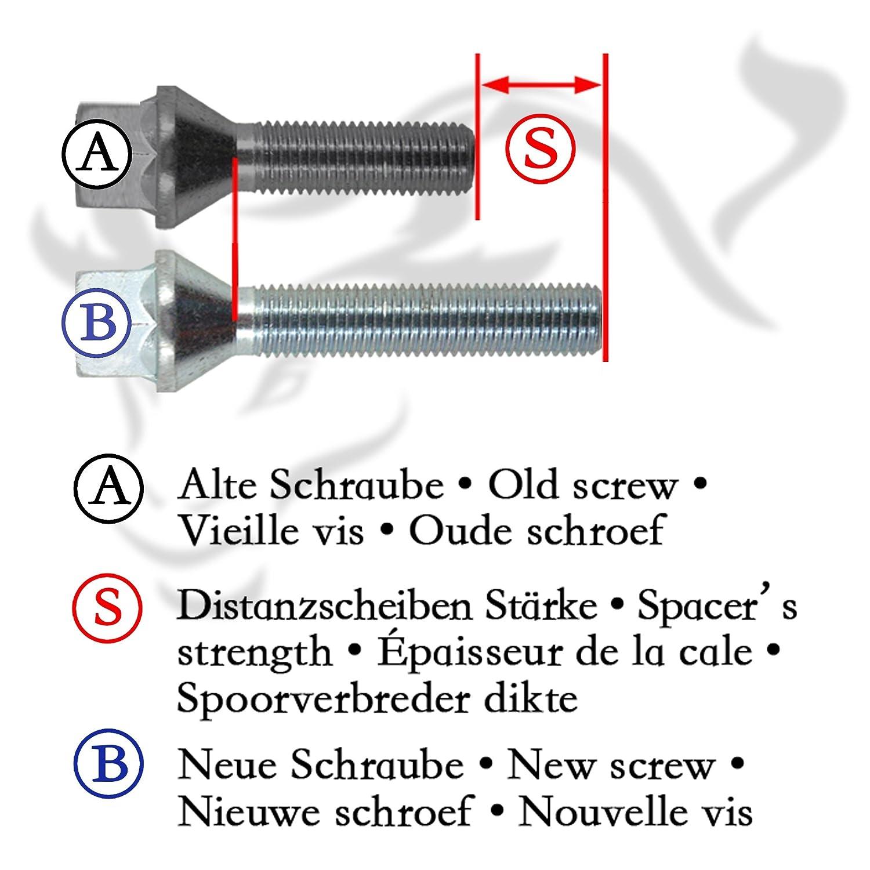 JOM 780017/njt deporte extremo Spacer Set 30/mm