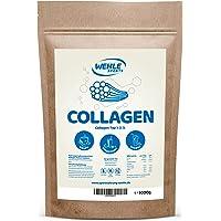 Wehle Sports Collageen poeder, 1 kg, collageen, hydrolysaat peptide, eiwitpoeder, smaakneutraal, made in Germany…