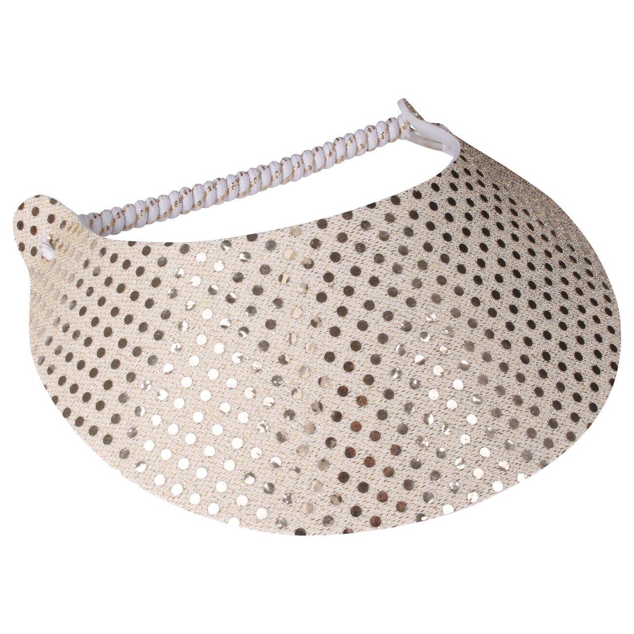 Sun Visor for Men & Women - Glitzy Design Hats Perfect For the summer (Glitz 2)