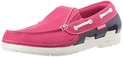 d7b1e40d9 Crocs Juniors Beach Line Hybrid Boat Shoes