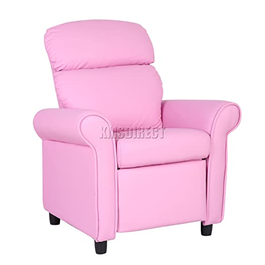 FoxHunter Kids Recliner Armchair Games Chair Boys Girls Sofa Children Seat In PU Leather KSP01 Pink  sc 1 st  Amazon UK & FoxHunter Kids Recliner Armchair Games Chair Boys Girls Sofa ... islam-shia.org