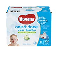 Deals on Huggies One and Done Baby Wipes 336 ct