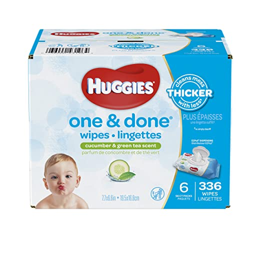Review Huggies One and Done