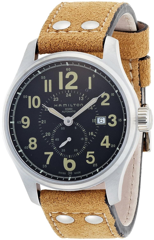 ハミルトン (HAMILTON) 腕時計 Khaki Officer Auto H70655733 44mm メンズ [正規輸入品] B002WDUE5E
