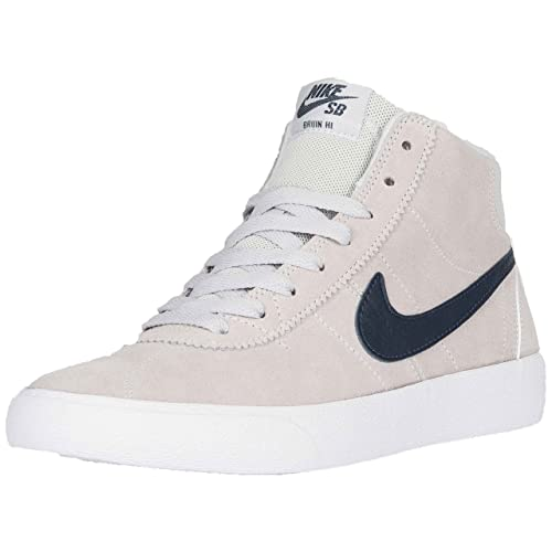 online store e8779 c1674 Nike SB 'Bruin Hi' Women's. Pure Platinum/Obsidian/White.: Amazon.it ...