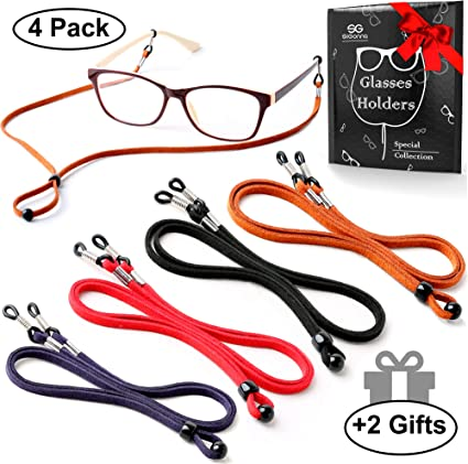 Black Neck Cord Glasses Sunglasses Reading Strap Spectacle Holder Lanyards 23/""