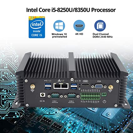 Baieyu Mini Host de microordenador htpc, Intel Quad Core ...