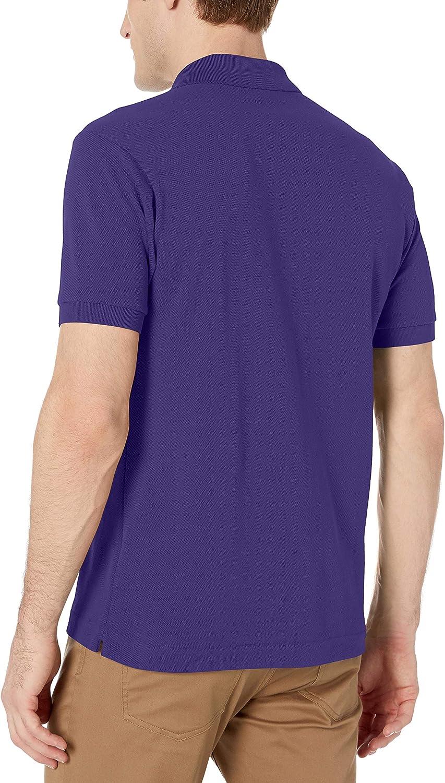 Lacoste Mens Short Sleeve L.12.12 Pique Polo Shirt