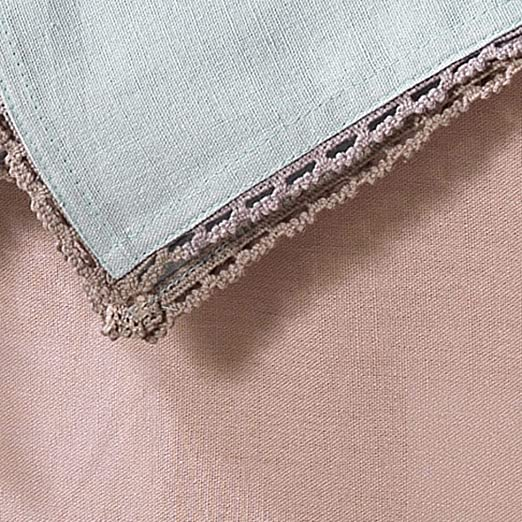 Charme et Douceur, Juego de 3 servilletas Femina, de algodón, 40 x ...
