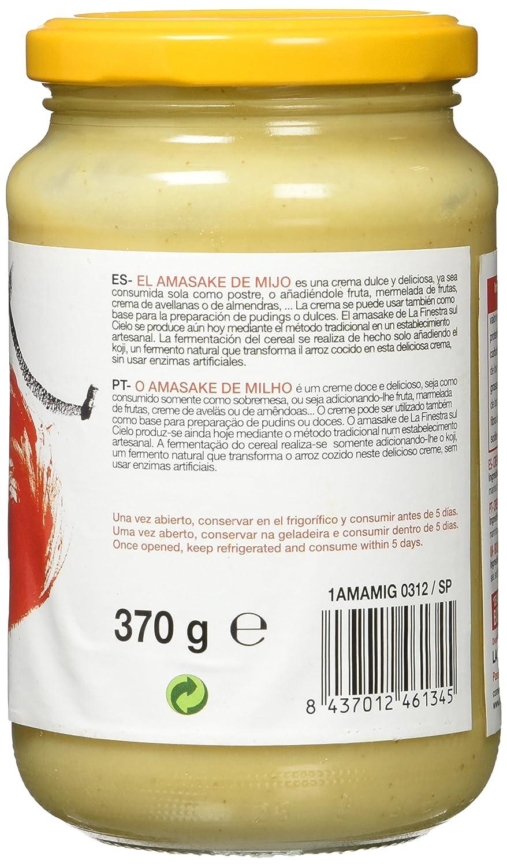 La Finestra Sul Cielo Amasake de Mijo - 370 gr: Amazon.es: Alimentación y bebidas