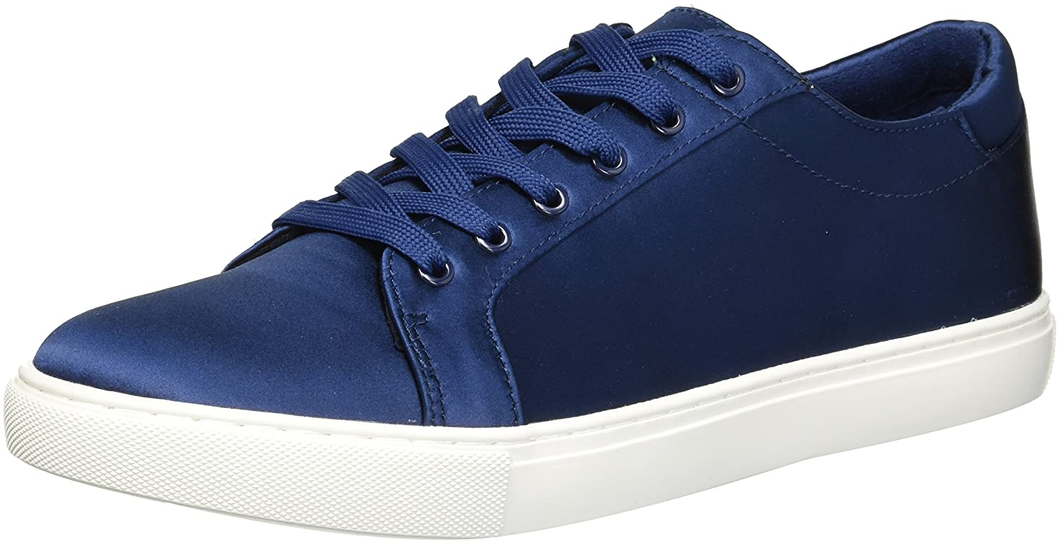 Kenneth Cole New York Women's Kam Techni-Cole Satin Lace-up Sneaker B079JSB6NL 8.5 B(M) US|Navy