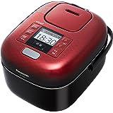 パナソニック 3合 炊飯器 圧力IH式 おどり炊き 豊穣ブラック SR-JX056-K