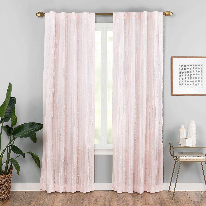 Vue Vaughn Window Curtain Panel 42 x 95 Blush