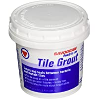 Savogran 12860 Ready-To-Use Tile Grout, Bright White