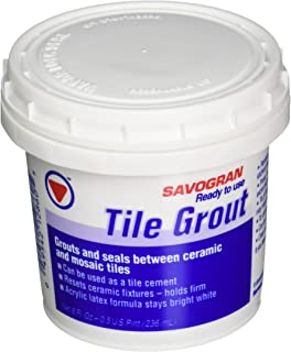 Savogran 12860 Ready-To-Use Tile Grout 8 Fl. Oz