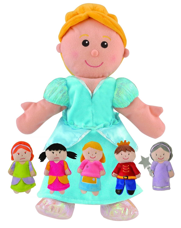 Fiesta Crafts Gingerbread Man Finger Puppet Set