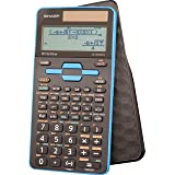 Sharp Calculators EL-W535TGBBL 16-Digit Scientific Calculator with WriteView, 4 Line Display, Battery and Solar Hybrid Powere