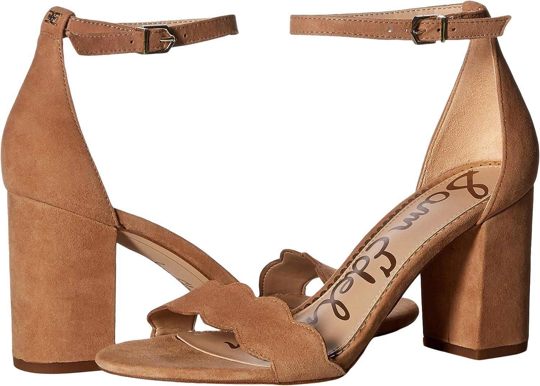 Camel Suede Leather Sam Edelman Women's Odila Fashion Sandals
