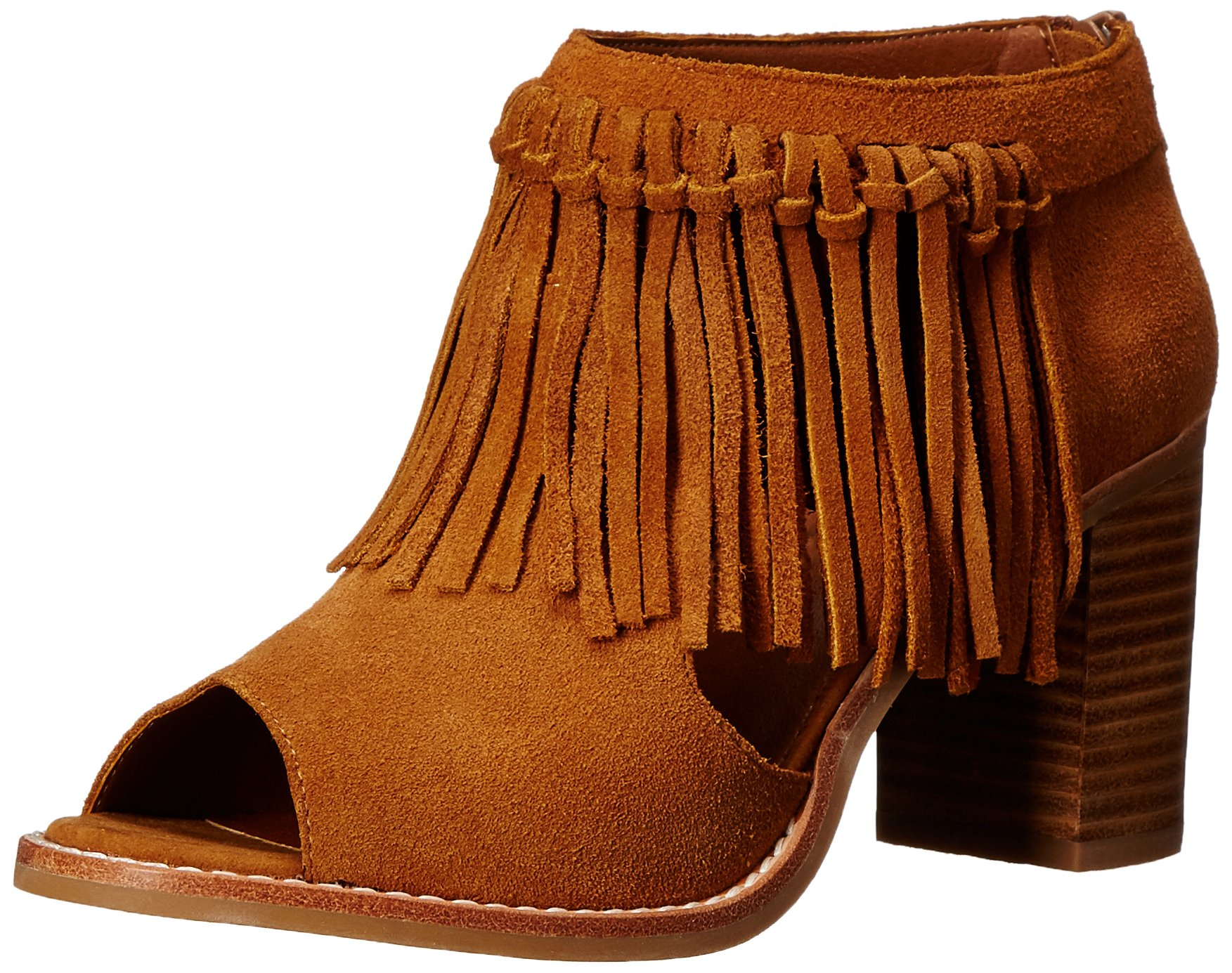 Sbicca Women's Hickory Heeled Sandal, Tan, 9 B US