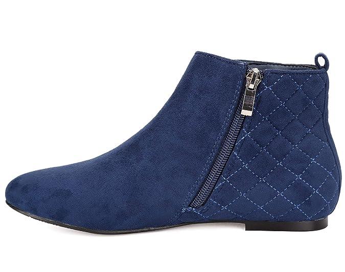 8d210fbcdb43 Amazon.com | MaxMuxun Women Shoes Flats Classic Ankle Boots | Ankle & Bootie